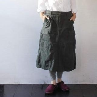 ティグルブロカンテ(TIGRE BROCANTE)のティグルブロカンテ✨TIGRE BROCANTE ポケット コクーン スカート(ロングスカート)