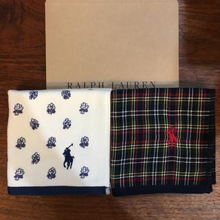 ラルフローレン(Ralph Lauren)の[新品]ラルフローレン タオルハンカチ 4枚セット(ハンカチ/ポケットチーフ)