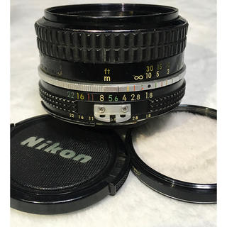 ニコン(Nikon)のNikon Ai 50mm F1.8(レンズ(単焦点))
