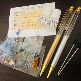 ハーバリウムボールペンキット2本分(その他)