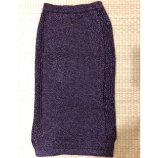 ジーユー(GU)のGU ロングタイトスカート(ロングスカート)