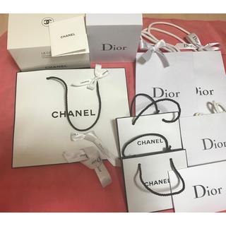 シャネル(CHANEL)のシャネル ディオール コスメショップ袋(ショップ袋)