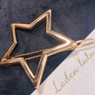 星 の ヘアピン  Gold(ヘアピン)