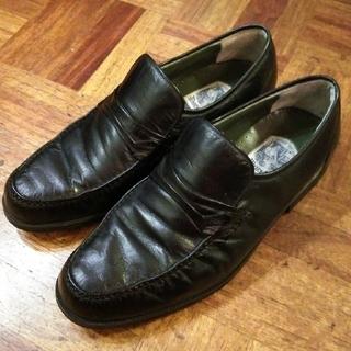 ジャーナルスタンダード(JOURNAL STANDARD)のマレリー MARELLI レザー ビジネス シューズ 短靴 フォーマル モカシン(ドレス/ビジネス)