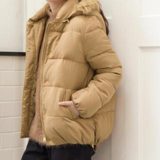 スタディオクリップ(STUDIO CLIP)のスタディオクリップ ファーフード付き中綿ショートコート(ダウンジャケット)