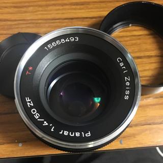 ニコン(Nikon)のカールツァイス Zeiss Planar 1.4/50mm ZF ニコン用(レンズ(単焦点))