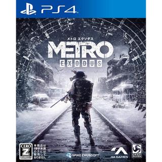 プレイステーション(PlayStation)のps4  メトロエクソダス(家庭用ゲームソフト)