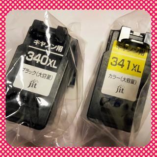 キヤノン(Canon)のキャノン【大容量】インクカートリッジBC340/341XLセット(PC周辺機器)