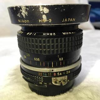 ニコン(Nikon)のNikon Ai 28mm F2.8(レンズ(単焦点))