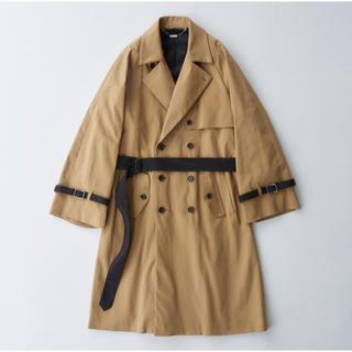 サンシー(SUNSEA)のWide Sleeve Belted Trench Coat(トレンチコート)