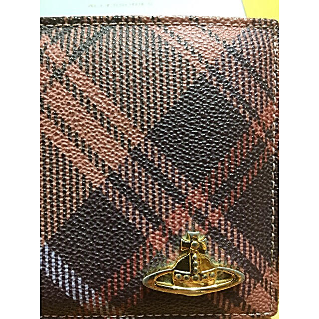 Vivienne Westwood(ヴィヴィアンウエストウッド)のヴィヴィアンウエストウッド 折りたたみ財布 レディースのファッション小物(財布)の商品写真