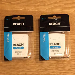 REACH デンタルフロス 2個セット ジョンソンエンドジョンソン 値引可能(歯ブラシ/デンタルフロス)