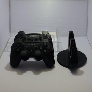 プレイステーション3(PlayStation3)のSONY PlayStation3 コントローラ2個&充電スタンド(その他)