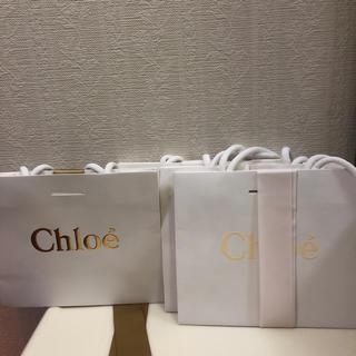 クロエ(Chloe)のクロエ ショッパー 新品未使用 4枚(ショップ袋)