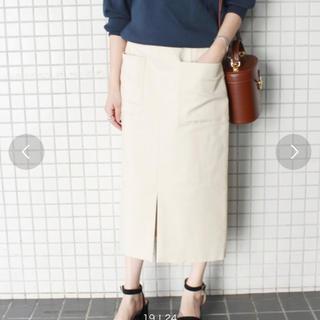IENA SLOBE - 新品未使用 SLOBE IENA ダブルクロスサイドポケットスカート