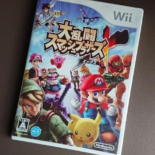 ウィー(Wii)の「大乱闘スマッシュブラザーズ X」(家庭用ゲームソフト)