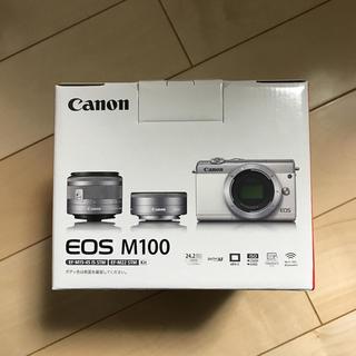キヤノン(Canon)のEOS  M100(ミラーレス一眼)