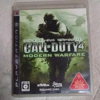 プレイステーション3(PlayStation3)のPS3コールオブデューティ4 モダン・ウォーフェア(家庭用ゲームソフト)