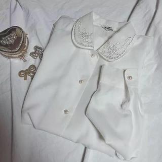 ロキエ(Lochie)の本日のみ、vintage blouse 🥀(シャツ/ブラウス(長袖/七分))