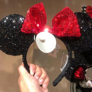 ディズニー(Disney)の【日本未入荷】上海ディズニー限定!ミニー スパンコール カチューシャ(カチューシャ)