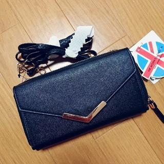 シマムラ(しまむら)の新品タグ付き Instagram大人気 しまむら完売品 お財布ショルダー 黒(ショルダーバッグ)