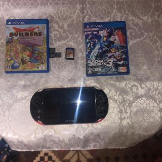 プレイステーションヴィータ(PlayStation Vita)のpsvita2000  カセットもろもろ(家庭用ゲームソフト)