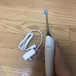 フィリップス(PHILIPS)のフィリップス ソニッケアー エアーフロス 口腔洗浄器 グリーン HX8240(歯ブラシ/デンタルフロス)