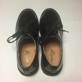 Zipper エナメルローファー(ローファー/革靴)