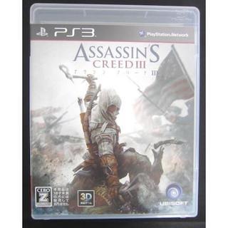 プレイステーション3(PlayStation3)の雑貨105/PS3ソフト:アサシン クリードIII(家庭用ゲームソフト)