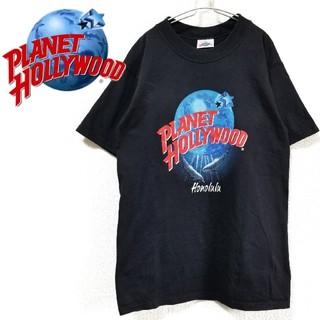 Santa Monica - アメリカ製 PLANET HOLLYWOOD Honolulu Tシャツ