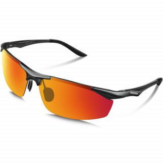 サングラス メンズ 偏光レンズ 運転 軽量 uvカット 紫外線カット レッド(サングラス/メガネ)