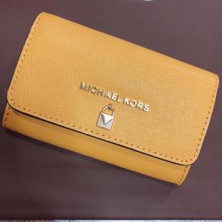 マイケルコース(Michael Kors)の美品 マイケルコース  名刺入れ カードケース(名刺入れ/定期入れ)