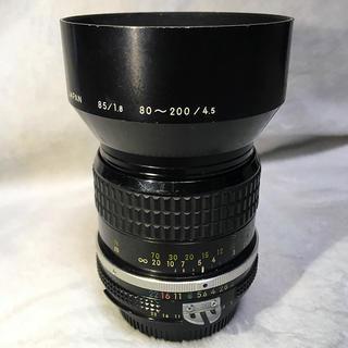 ニコン(Nikon)のNikon Ai 85mm F2(レンズ(単焦点))