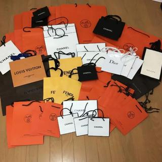シャネル(CHANEL)の❤︎ブランド・ショップ紙ぶくろ♡ 55枚❤︎(ショップ袋)