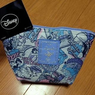 ディズニー(Disney)の新品タグ付き アラジン ポーチ 舟形ポーチ ジャスミン ディズニープリンセス(ポーチ)