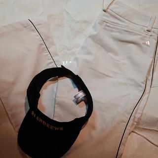 アディダス(adidas)のadidas 冬用パンツ  黒ライン(ウエア)