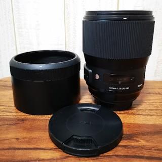 シグマ(SIGMA)のSigma135mm F1.8 art canon用(レンズ(単焦点))