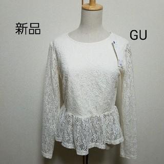 GU - 新品 GU レーストップス
