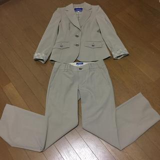 バーバリーブルーレーベル(BURBERRY BLUE LABEL)のバーバリー パンツスーツ(スーツ)
