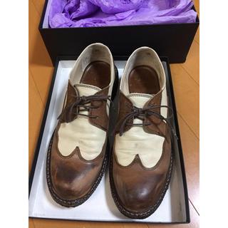 リミフゥ(LIMI feu)の【箱付き】LIMI feu 本革レザーシューズ(ローファー/革靴)