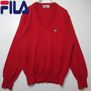 フィラ(FILA)のFILA フィラ 胸刺繍 ニット セーター N233(ニット/セーター)