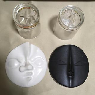 グラス 太陽の顔 岡本太郎 太陽の塔(彫刻/オブジェ)