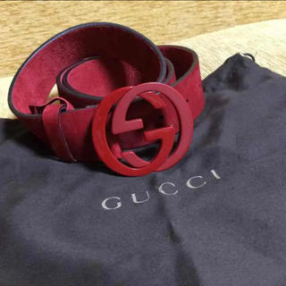 グッチ(Gucci)のGUCCIベルト ボルドー(ベルト)