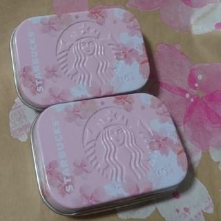 スターバックスコーヒー(Starbucks Coffee)のスタバ 桜缶2019(コーヒー)