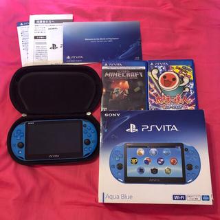 プレイステーションヴィータ(PlayStation Vita)のPlayStation®Vita(PCH-2000シリーズ) Wi-Fiモデル(携帯用ゲーム本体)