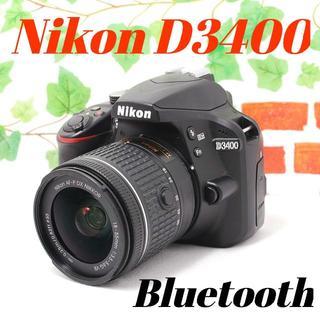 ニコン(Nikon)の❤️シャッター回数1491枚❤️Bluetooth搭載❤️ニコン D340(デジタル一眼)