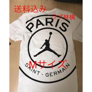 NIKE - psg jordan Tシャツ ティーシャツ 白 white ジョーダン M