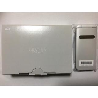 キョウセラ(京セラ)の【SIMロック解除済】au GRATINA KYF37(携帯電話本体)
