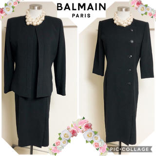 バルマン(BALMAIN)のバルマンのブラックフォーマル■9号(スーツ)