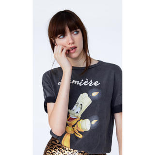ザラ(ZARA)のディズニー 美女と野獣 ルミエール Tシャツ(Tシャツ(半袖/袖なし))